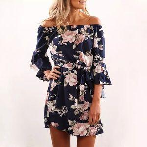 Dresses & Skirts - Off shoulder Floral Dress